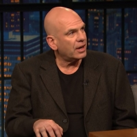VIDEO: David Simon Talks About Negotiating With Phillip Roth on LATE NIGHT WITH SETH  Photo
