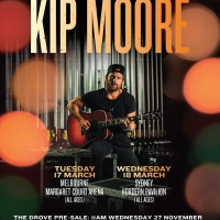 Kip Moore Returns To Sydney and Melbourne in March 2020 Photo