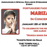 The Town Hall Presents Portuguese Fado Singer Mariza in Concert Photo