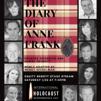 THE DIARY OF ANNE FRANK Returns To Theatre South Playhouse For One Night Only Photo