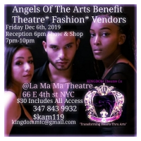 Kingdom Theatre Announces Benefit Fundraiser Event, Angels Of The Arts