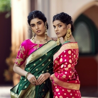 WeaverStory Handwoven Textiles, 'Clusters Of Handlooms' is Presented at Weddings and  Photo