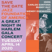 Carlos Santana, Buddy Guy and Wendy Oxenhorn To Be Honored by The Jazz Foundation of  Photo