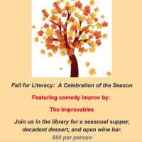 FALL FOR LITERACY, A CELEBRATION OF THE SEASON to Benefit LVSC on 10/25 at Bridgewater Public Library