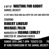 Lockdown Theatre Announces Live Virtual Table Read Of A BIT OF WAITING FOR GODOT In A Photo