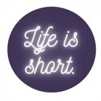 Student Blog: Life is short. Photo