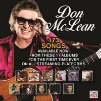 173 Songs From 11 Albums By Don McLean Now All Available Via Digital Stream Photo