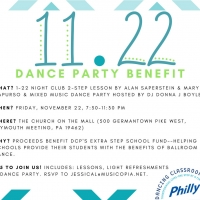 Dancing Classrooms Philly Teaching Artist Donna J. Boyle Will Host Dance Lesson & Mixed Music Dance Party