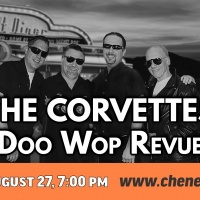 The Corvettes Doo Wop Revue to be Presented at Cheney Hall Photo