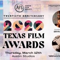 Austin Film Society Reveals Honorees for 20th Anniversary Texas Film Awards Photo