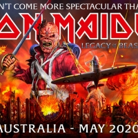 Iron Maiden to Return to Australia in May 2020
