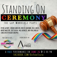 Out Front Theatre Company Presents 'Standing on Ceremony: The Gay Marriage Plays' Photo