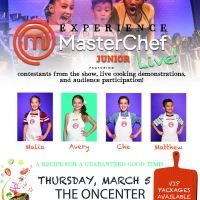 MASTERCHEF JUNIOR LIVE! Has Announced Cast for Performance at The Oncenter Crouse Hin Photo