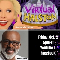 BWW Previews: Bebe Winans & Julie Halston Go VIRTUAL on October 2nd Photo
