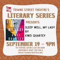 Towne Street Theatre's Literary Series Presents SLEEP WELL, MY LADY Photo