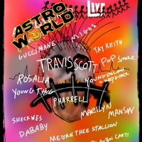 Travis Scott's Second Annual Astroworld Festival Announces Full Lineup, Featuring Ros Photo