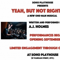 YEAH, BUT NOT RIGHT NOW by A.J. Holmes to be Presented at SoHo Playhouse Photo