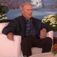 VIDEO: Clint Eastwood Talks About Being Ellen's Neighbor