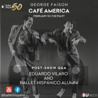 Ballet Hispánico's Watch Party Series Continues With George Faison's CAFE AMERICA Photo