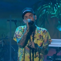 VIDEO: blackbear Performs 'Hot Girl Bummer' on THE LATE LATE SHOW