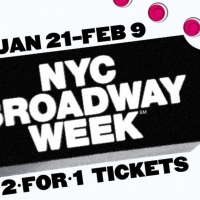2-For-1 Broadway Tickets Are Now On Sale For NYC Broadway Week