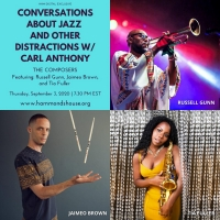 Conversations About Jazz Turns Spotlight On Composers On September 3 Photo