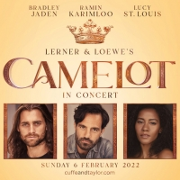 Ramin Karimloo,  Lucy St. Louis, and Bradley Jaden Will Lead CAMELOT IN CONCERT at th Photo