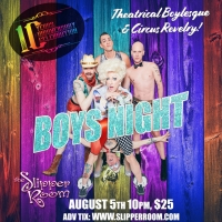 Boys' Night: An All-Male Cirquelesque Revue Celebrates 10 Years Next Month Photo