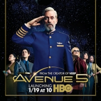 HBO's New Comedy Series AVENUE 5 Debuts January 19