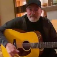 VIDEO: Neil Diamond Sings COVID-19 Edition of 'Sweet Caroline' by the Fire