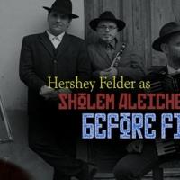 San Diego Repertory Theatre to Stream World Premiere of HERSHEY FELDER: BEFORE FIDDLER - L Photo