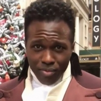 VIDEO: HAMILTON Star Joshua Henry Gets Back In Action As Burr for the Macy's Thanksgiving Photo