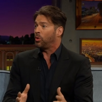 VIDEO: Harry Connick Jr. Talks Rollerblading on THE LATE LATE SHOW WITH JAMES CORDEN Video