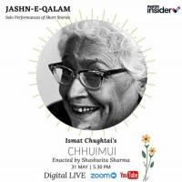 BWW Review: JASHAN-E-QALAM : CHHUMUI - A TALE BY ISMAT CHUGTAI at Digital - Live Play: Pe Photo