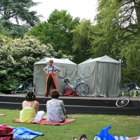 The Royal Shakespeare Company Launches Outdoor Performance Series in Dell Gardens Thi Photo