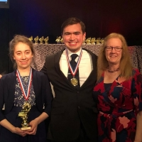 Zakary Reynolds and Lauren Swain Win First Place in the United States International Duo Pi Photo