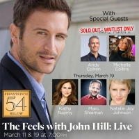 John Hill Adds Performance in THE FEELS LIVE at Feinstein's/54 Below Photo