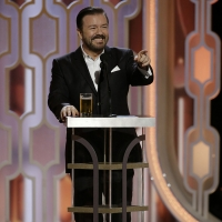 Ricky Gervais to Host the 2020 GOLDEN GLOBES