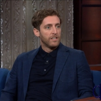 VIDEO: Watch Thomas Middleditch's Impression of his Father on THE LATE SHOW WITH STEPHEN COLBERT