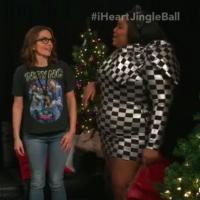 VIDEO: Tina Fey and Renee Rapp Meet Lizzo at Jingle Ball