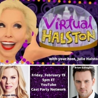 BWW Previews: OMG!  Megan Hilty and Brian Gallagher Visit VIRTUAL HALSTON On February Photo