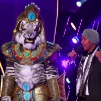 VIDEO: The White Tiger is Unmasked on THE MASKED SINGER!