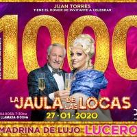 LA JAULA DE LAS LOCAS cumple 1000 Representaciones en México Photo
