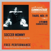 Soccer Mommy To Perform Live for SummerStage Anywhere on Nov. 19 Photo