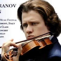 Violinist Andrey Baranov Joins InterHarmony Festival In Italy In July