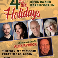 BWW Interview: Alex Rybeck, Ari Axelrod, Celia Berk, Kevin Dozier, Karen Oberlin of 4 FOR THE HOLIDAYS at The Beach Cafe