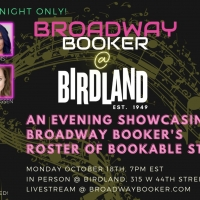 Kate Rockwell of BROADWAY BOOKER AT BIRDLAND at Birdland October 18th at 7 pm Interview