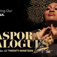 Koshie Mills Presents THE DIASPORA DIALOGUES Live Tour 2019