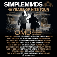 Simple Minds Announce Rescheduled Australian and New Zealand Dates For December 2021 Photo