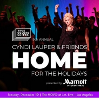 Cyndi Lauper & Friends: Home for the Holidays Concert Sets Dec. 10 Date